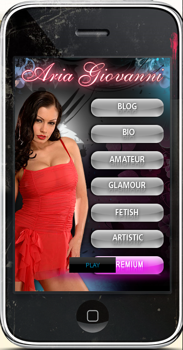 First Iphone Porn Star App