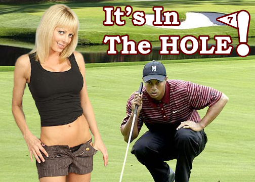 Tiger Woods & Holly Sampson