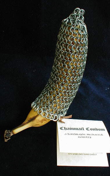 Chainmail Condom