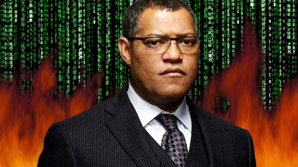 Laurence Fishburne Speaks to Montana Fishburne
