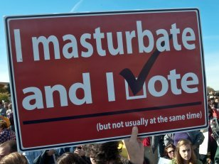Election Day - Vote and Masturbate