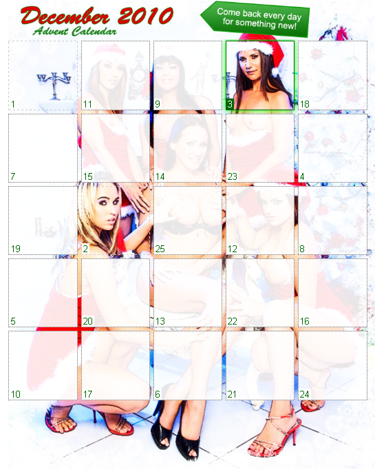 HotMovies.com Advent Calender