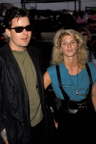 Charlie Sheen with Porn Star Ginger Lynn