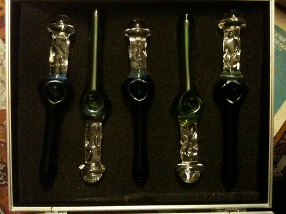 420 Marijuana Glass Pipe Dildos
