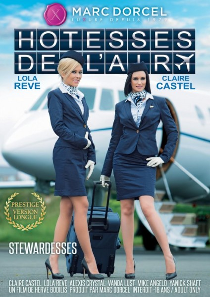 Stewardesses from Marc Dorcel