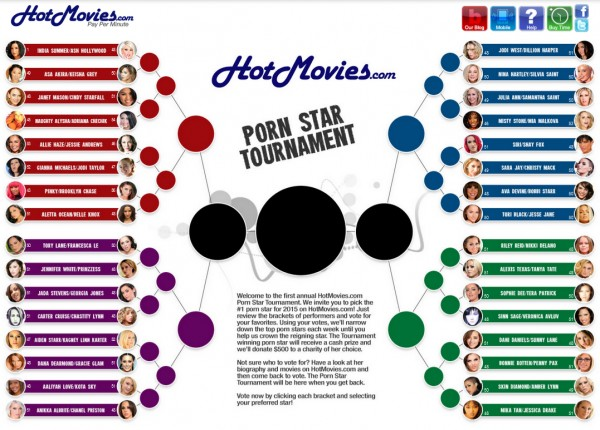HotMovies.com Porn Star Tournament