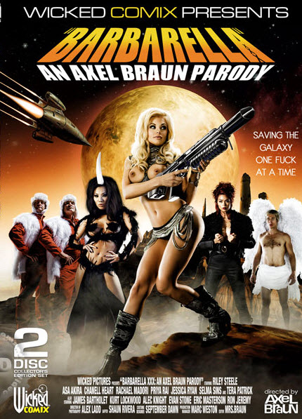Cover for Barbarella-An Axel Braun Parody